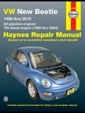 VW New Beetle 1998 Thru 2010 Haynes Repair Manual: All Gasoline Engines - Tdi Diesel Engine (1998 Thru 2004)