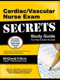 Cardiac/Vascular Nurse Exam Secrets: Cardiac/Vascular Nurse Test Review for the Cardiac/Vascular Nurse Exam