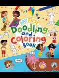 My First Doodling and Coloring Book