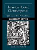 Large Print: Tarascon Pocket Pharmacopoeia 2018 Classic Shirt-Pocket Edition