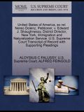 United States of America, Ex Rel. Nereo Dolenz, Petitioner, V. Edward J. Shaughnessy, District Director, New York, Immigration and Naturalization Serv