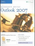 Outlook 2007: Advanced, Student Manual [With 2 CDROMs]