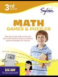 Third Grade Math Games & Puzzles (Sylvan Workbooks) (Sylvan Math Workbooks)