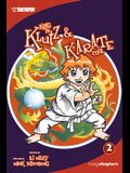 Kung Fu Klutz and Karate Cool Manga Volume 2
