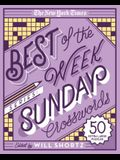The New York Times Best of the Week Series: Sunday Crosswords: 50 Extra Large Puzzles