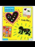 Mudpuppy Keith Haring MagnaChalk Wall Decals