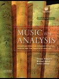 Music for Analysis: Examples from the Common Practice Period and the Twentieth Century [With CD (Audio)]