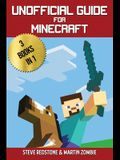 Unofficial Guide For Minecraft: 3 Books In 1