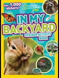 In My Backyard Sticker Activity Book