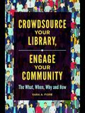 Crowdsource Your Library, Engage Your Community: The What, When, Why, and How
