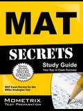 Mat Secrets Study Guide: Mat Exam Review for the Miller Analogies Test