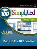 Mac OS X v. 10.3 Panther: Top 100 Simplified Tips & Tricks (Top 100 Simplified Tips & Tricks)