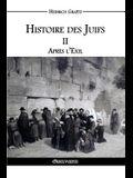 Histoire des Juifs II: Après l'Exil