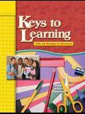KEYS TO LEARNING WORKBOOK