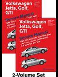 Volkswagen Jetta, Golf, GTI (A4) Service Manual: 1999, 2000, 2001, 2002, 2003, 2004, 2005: 1.8l Turbo, 1.9l Tdi Diesel, Pd Diesel, 2.0l Gasoline, 2.8l