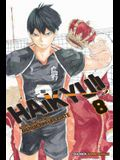 Haikyu!!, Vol. 8, Volume 8: Former Lonely Tyrant