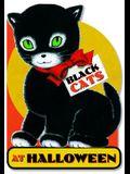 Black Cats at Halloween