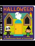Halloween: A Peek-Through Halloween Book of Counting