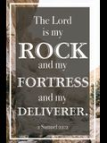 The Lord Is My Rock Bulletin (Pkg 100) General Worship