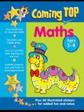 Coming Top Maths Ages 3-4: Get a Head Start on Classroom Skills - With Stickers!