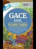 GACE ESOL Flash Cards Book 2019-2020: Rapid Review GACE ESOL Test Prep Review with 300+ Flashcards for the Georgia Assessments for the Certification o
