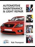 Workbook for Thompson's Automotive Maintenance & Light Repair