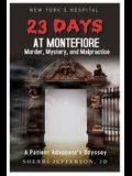 23 Days At Montefiore: Murder, Mystery, and Malpractice A Patient Advocate's Odyssey