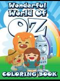 Wonderful World of Oz Coloring Book