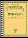 Beethoven - Complete Piano Sonatas: Schirmer Library of Classics Volume 2103