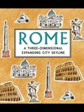 Rome: Panorama Pops: A Three-Dimensional Expanding City Skyline