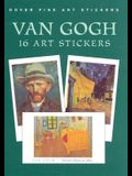 Van Gogh: 16 Art Stickers