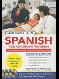 McGraw-Hill's Spanish for Healthcare Providers [With 3 CDs]