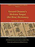 Gerard Clauson's Skeleton Tangut (Hsi Hsia) Dictionary: A facsimile edition