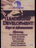 Leadership Development: Keys to Advancement