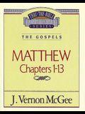 Thru the Bible Vol. 34: The Gospels (Matthew 1-13), 34