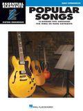 Popular Songs: Essential Elements Guitar Ensembles Early Intermediate