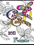 Calendario da Colorare 2021 Farfalle