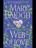 Web of Love (Dell Historical Romance)