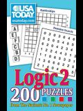 USA Today Logic 2, 18: 200 Puzzles from the Nations No. 1 Newspaper