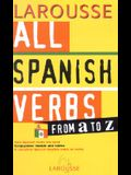 All Spanish Verbs from A to Z