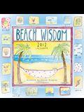 Beach Wisdom 2012 Wall (calendar)