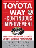 Toyota Way to Cntns Imprvmnt