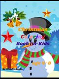Christmas Coloring Book for Kids age 4-8: Adoring Christmas Coloring Book, a wonderful and perfect gift for Kids Ages 4-8.