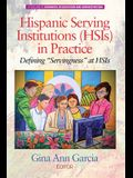 Hispanic Serving Institutions (HSIs) in Practice: Defining Servingness at HSIs