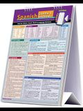 Spanish Grammar & Vocabulary Easel Book: A Quickstudy Reference Tool for School, Work & Language Barriers