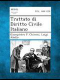 Trattato Di Diritto Civile Italiano