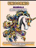 Unicornio Mandala Libro Para Colorear: 30 Unicornios Mágicos. Libro para Colorear Antiestrés para Adultos