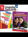 Conquering Fourth Grade Together: 2-Book Set