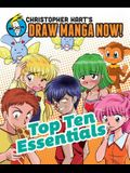 Top Ten Essentials: Christopher Hart's Draw Manga Now!