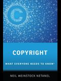 Copyright: What Everyone Needs to Know(r)